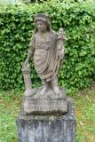 Genius Statuette on an Inscription Base