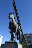 Icelandic Horse Monument - Reykjavik 2017