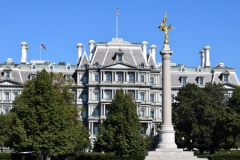 The Eisenhower Executive Office Building, DC 2017